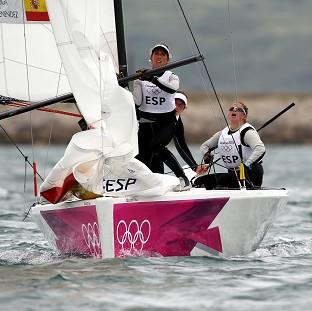 Spain surprised Australia to win the women's match racing class gold