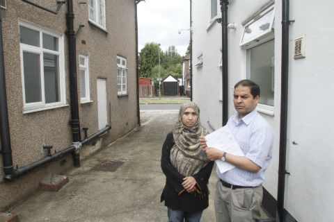 Liaquat and Liphe Ali were horrified at the latest claim for costs in the long-running argument with their next door neighbour
