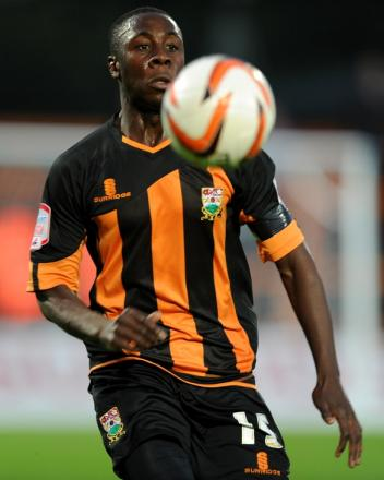 Andy Yiadom returns to the Barnet starting XI. Picture: Barnet FC