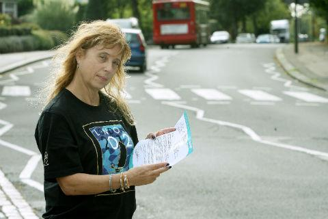 "Marcia Diamond was ""shocked"" when a letter arrived from Barnet Council warning of the early hours road resurfacing"