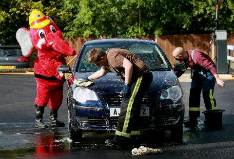Firefighters in Potters Bar will have buckets and sponges at the ready for the crew's charity car wash