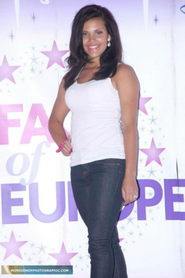 Saffron Corcordan is representing the county at the Face of Europe competition at Disneyland Paris
