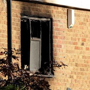 Times Series: Four children and a woman died in the blaze at Barn Mead in Harlow, Essex