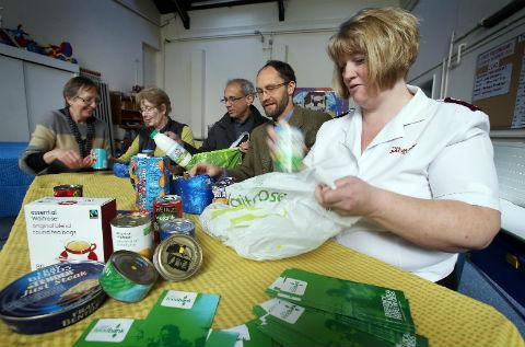 The Chipping Barnet foodbank opened in November 2012 and has since fed almost 1,500 people