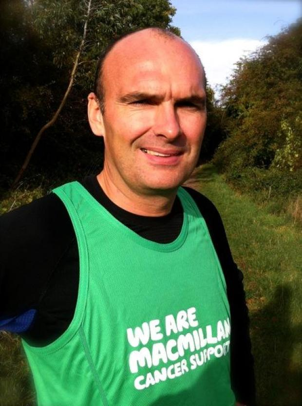 Chris Ward has raised £1,000 for Macmillan Cancer Support