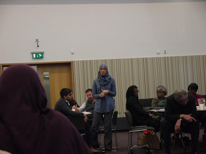 Mariam El-Abriary chaired the debate