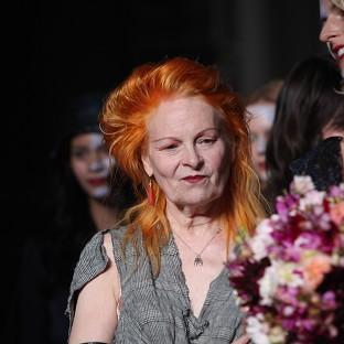 Dame Vivienne Westwood has paid a visit to WikiLeaks founder Julian Assange