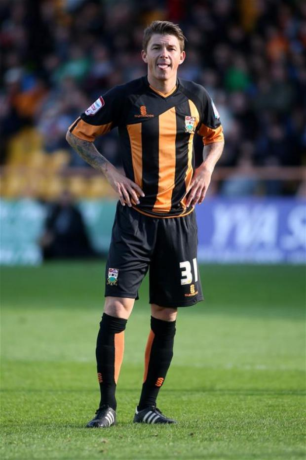 John Oster produced a man-of-the-match performance for the Bees. Picture: Action Images