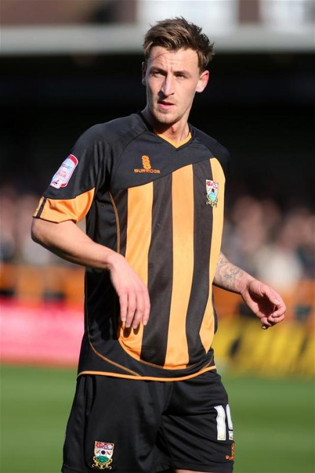 Jake Hyde returns to the Bees starting XI. Picture: Action Images