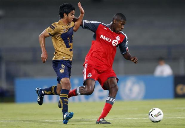 Iro previously played at Toronto FC before joining Stevenage Picture: Action Images
