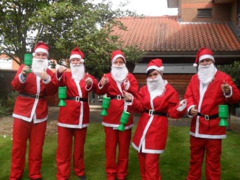 North London Hospice hopes to get the whole of Barnet in a Father Christmas outfit