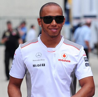 Lewis Hamilton was fastest in first practice at Interlagos
