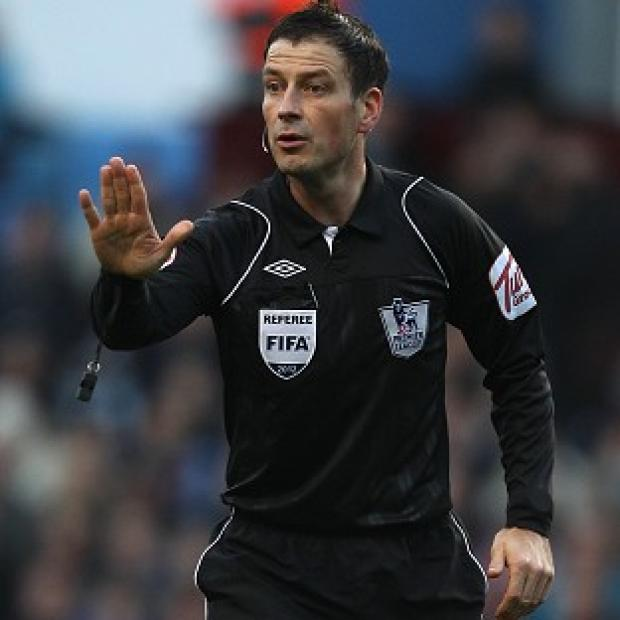 Times Series: Alex Ferguson said everyone in the game, apart from Chelsea, is happy for Mark Clattenburg, pictured