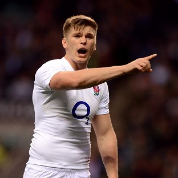 Owen Farrell kicked three penalties but England fell short