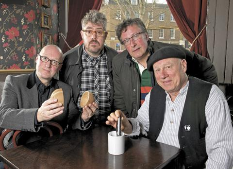 The Idiot Bast**d Band: Ade Edmondson, Phil Jupitus, Rowland Rivron and Neil Innes