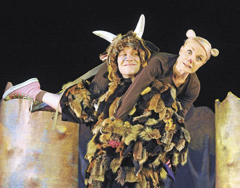 Everyone's favourite monster, The Gruffalo, comes to artsdepot in North Finchley. (Photo credit Alastair Muir)