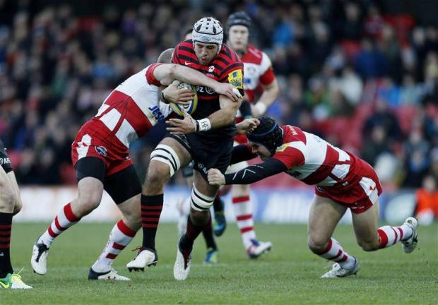 Will Fraser was named man-of-the-match against Gloucester