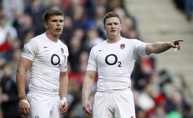 Chris Ashton and Owen Farrell both played rugby league before switching to union (Picture: Action)