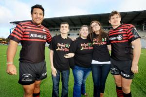 Times Series' juice bar campaign comes to fruitful end with help of Saracens