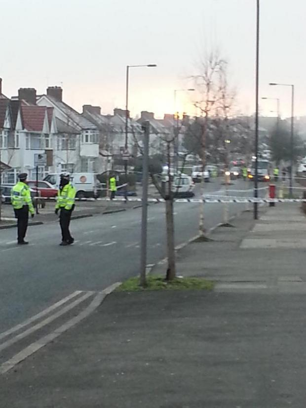 Camrose Avenue was closed for five hours following the crash