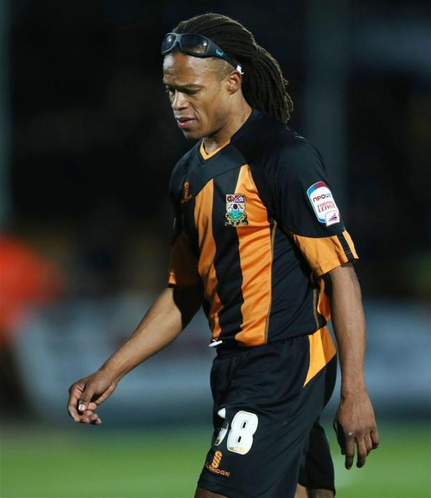 Edgar Davids was named man-of-the-match Picture: Action Images