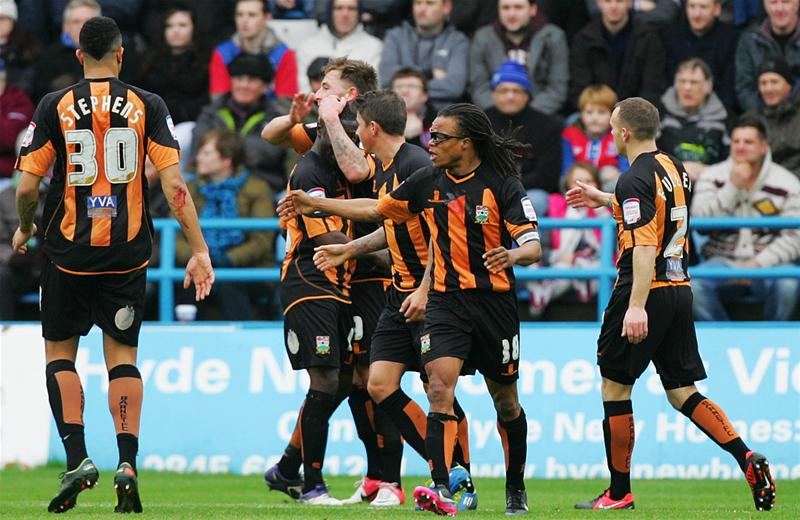 Barnet celebate going ahead against Gillingham. Picture: Action Images