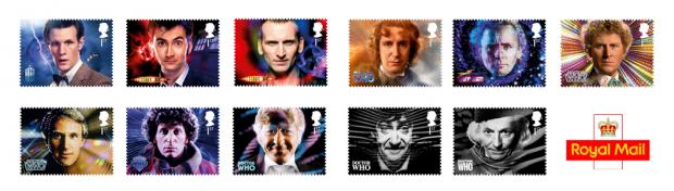 Patrick Troughton features in Royal Mail's collection of Doctor Who stamps