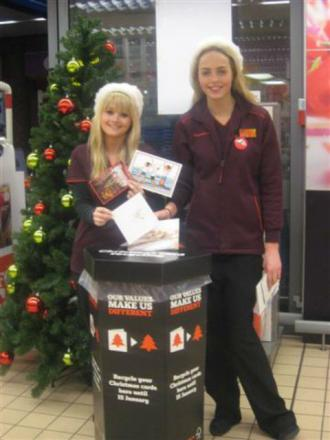 Christmas cards can be recycled at Sainsbury's in Potters Bar