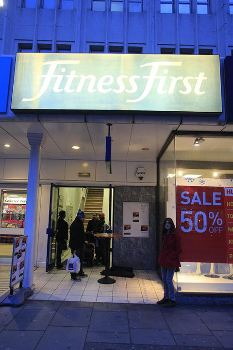 The former Fitness First gym in North Finchley