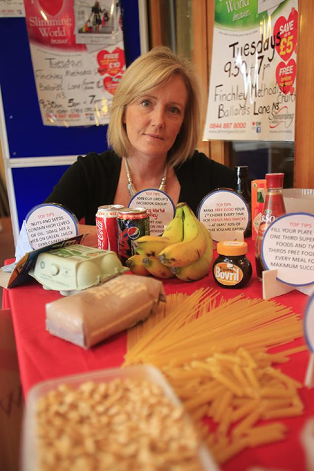 Karen Butler at Finchley Slimming World
