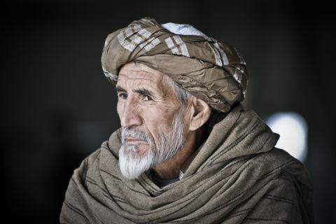 Afghan Elder taken by Corporal Mike Jones
