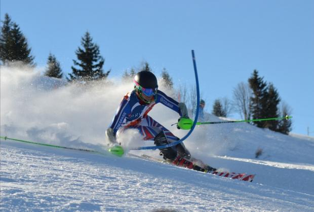 Poth crowned giant slalom champion