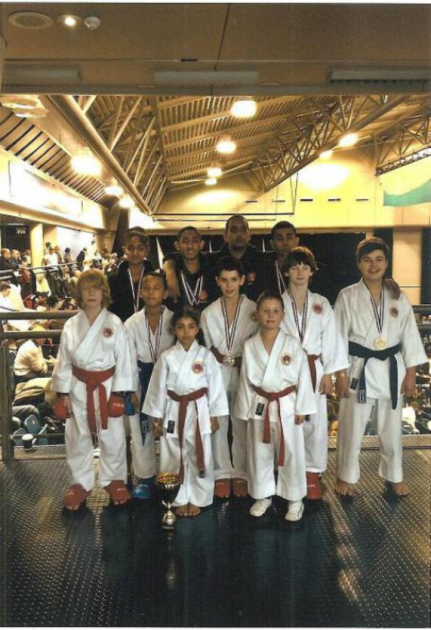 North Finchley's Ashin-do Kai Karate squad