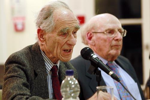 Fritz Lustig and Eric Mark listened in on Nazi conversations during the Second World War