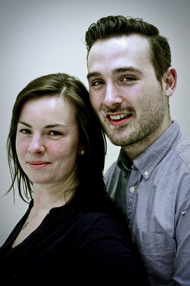 Laura Tollerton, 28, and Ben Gilhooly, 26.