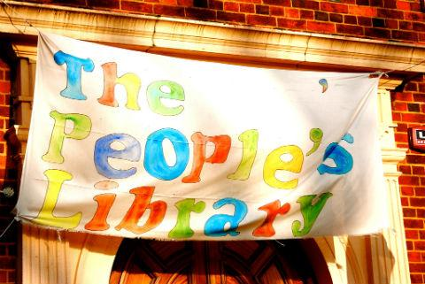 The library reopened as a public-run facility following a campaign by community groups and squatters that began in September last year