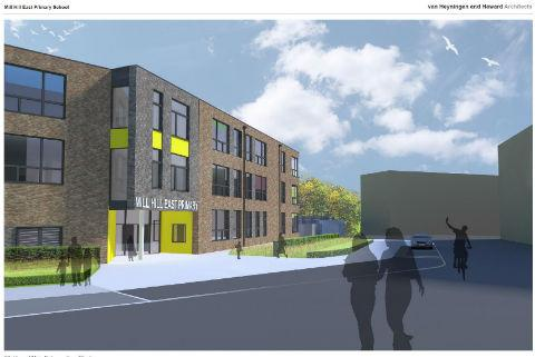 Times Series: Plans for Mill Hill East Primary School
