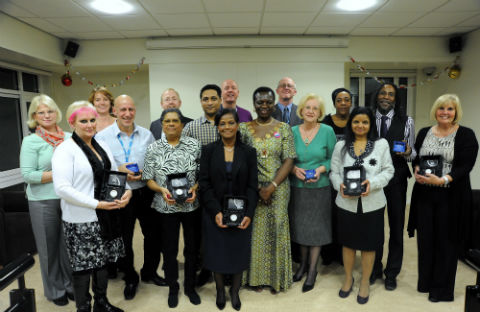 Barnet, Enfield and Haringey Mental Health Trust awards staff members for their long service to the NHS