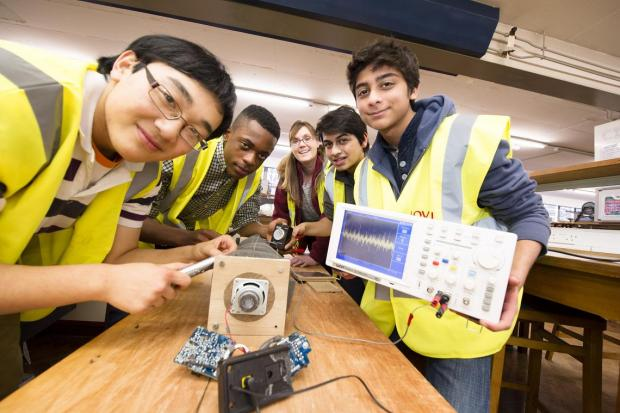 The students will be helping engineers at Lovells