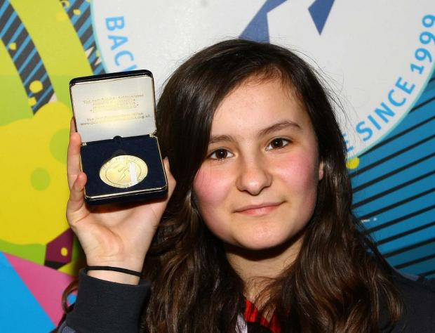 Ellie Themistokieous, 13, was one of the winners