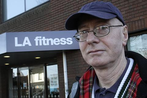 Terry Messenger has been banished from New Barnet LA Fitness after he went to the press about the recurring problem last week