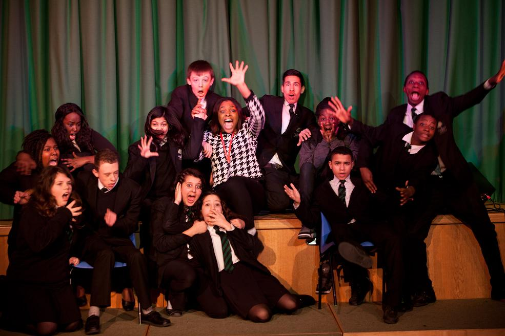Students take part in West End theatre project
