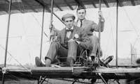 Fun: based at Hendon, Grahame-White (front) was a pioneer of flight in the early part of the 20th Century