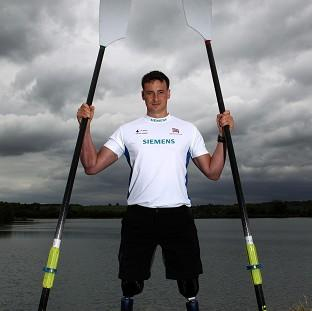 Paralympic rower Captain Nick Beighton lost both his legs in a blast while on a foot patrol in Afghanistan in 2009
