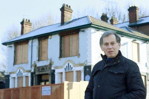 The Castle, in Finchley Road, Childs Hill, has been left boarded up by its owners since it closed last year
