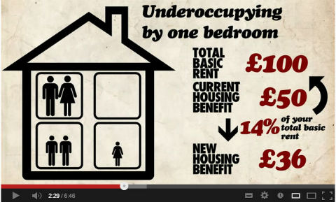 Still from Barnet Homes' Benefits Changes – What You Need to Know film