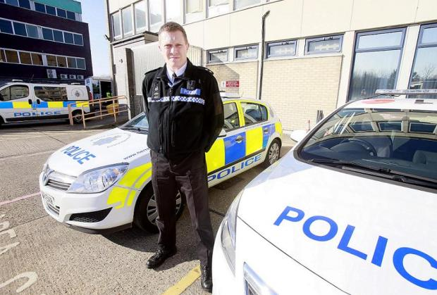 Neighbourhood Inspector for Hertsmere Richard Johnson, who joined the force two weeks ago, says tackling car crime is among his top priorities
