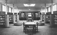 First edition: the North Finchley library in Ravenshurst Avenue as it was on its opening in 1936