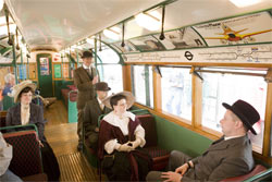 All aboard: Tube staff wear 1907 dress on the Northern Line's Centenary celebration special trains