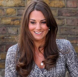The Duchess of Cambridge's visit to Grimsby was delayed by fog